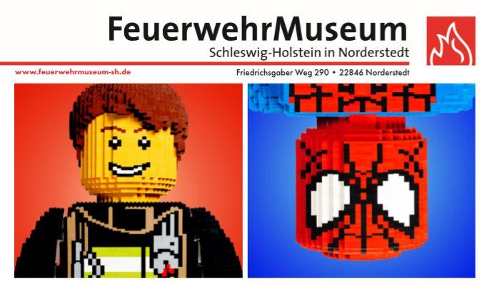 Sonderausstellung Lego Feuerwehrmuseum Norderstedt die Norderstedterin