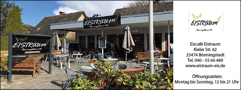 Eiscafé Eistraum Bönningstedt Wohin zu Ostern