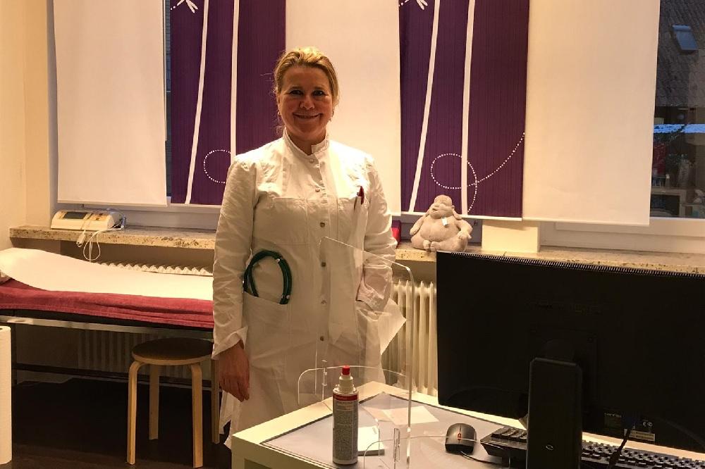 Dr. med. Frauke Bohlman Bönningstedt Covid-19 Corona die Norderstedterin