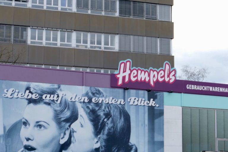 Gebrauchtwarenhaus Hempels Stadt Norderstedt Betriebsleiter André Klinger Marktleiter Carsten Loock