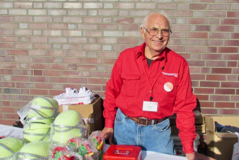 Das Feuerwehrmuseum wurde von Erwin Göhner vertreten, der schon mehr als 20 Jahre ehrenamtlicher Mitarbeiter im Museum ist.