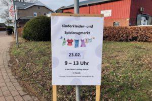 Kinderkleider- und Spielzeugmarkt in Hasloh am 23. Februar