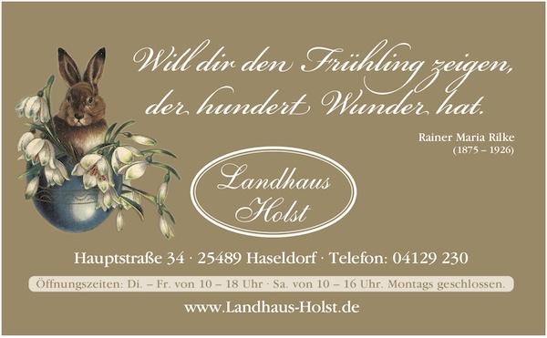 Landhaus Holst Haseldorf Wohnaccessoires Deko