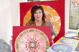 Serie # 5: Mandalas malen mit Regina Rauh