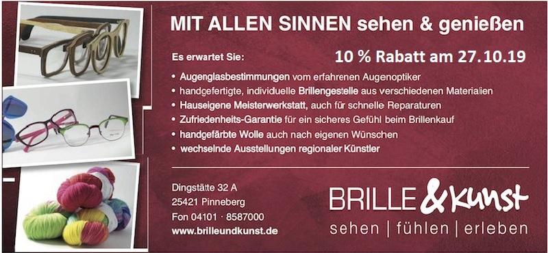 Brille und Kunst Pinneberg verkaufsoffener Sonntag die Norderstedterin