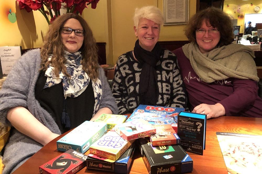 Die Dienstagszocker Spielegruppe Spieleabend Marina Jahn die Norderstedterin Brettspiele Kartenspiele