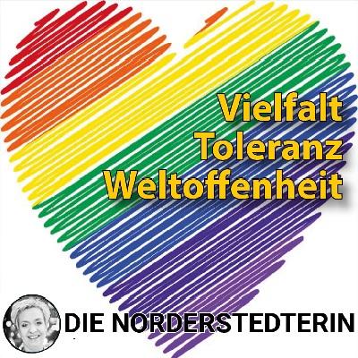 die Norderstedterin Maike Heggblum Vielfalt Toleranz Weltoffenheit Regenbogen