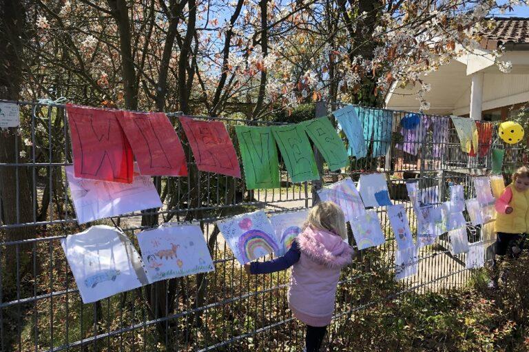 DRK Kindergarten Märchenwald Kaltenkirchen Corona Aktion Nina Kaiser die Norderstedterin