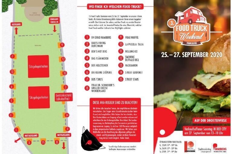 Food Truck Weekend Pinneberg verkaufsoffener Sonntag Birgit Schmidt-Harder die Norderstedterin