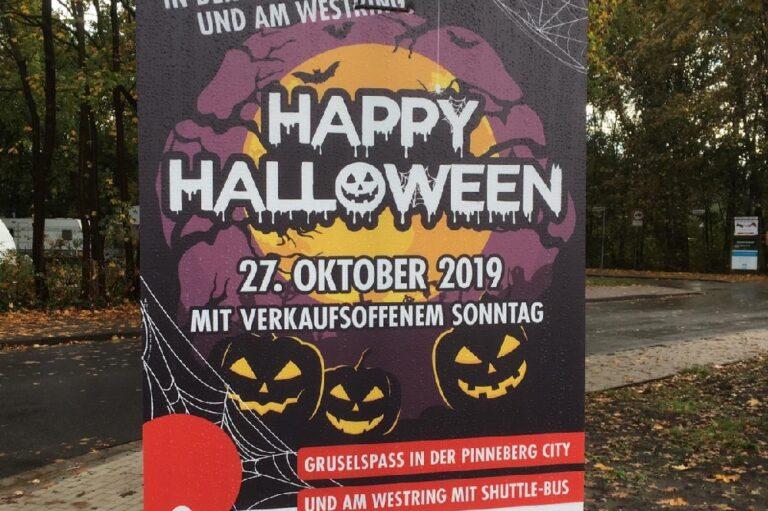 Verkaufsoffener Sonntag Pinneberg Happy Halloween die Norderstedterin