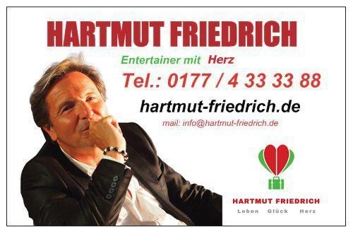 Hartmut Friedrich Entertainer Zauberer Magier Rellingen die Norderstedterin