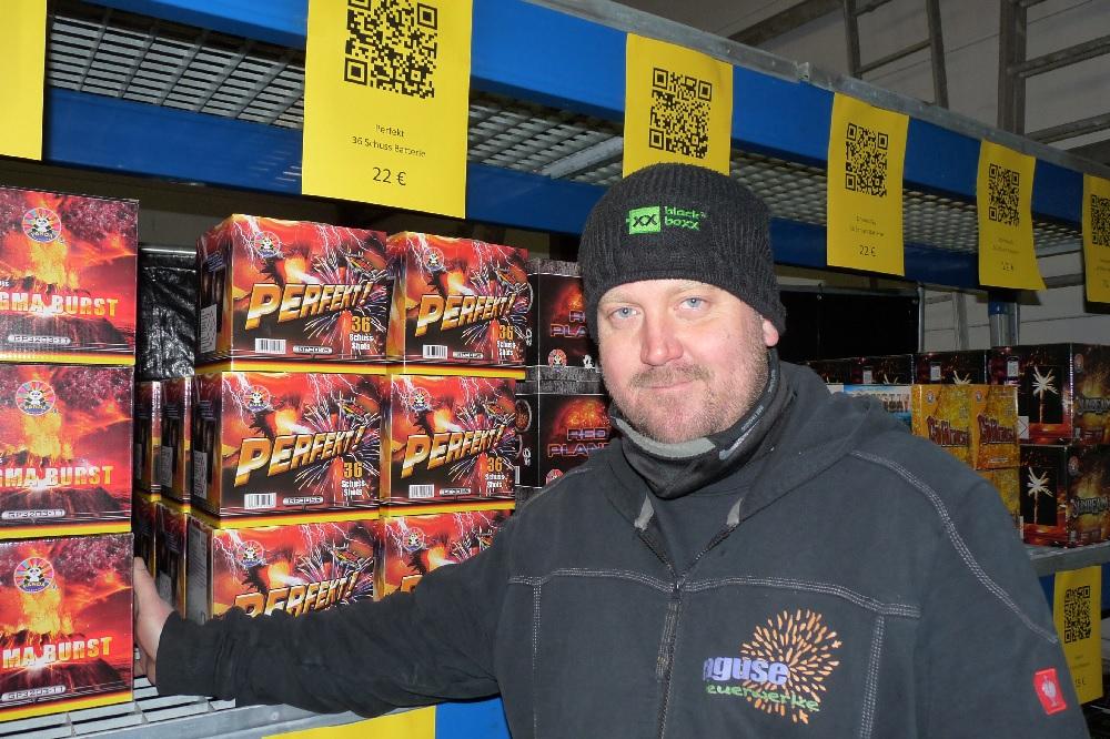 Sascha Ragust Feuerwerk Silvesterverkauf Last Minute Weihnachtsgewinnspiel die Norderstedterin