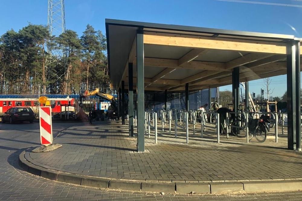 Meschensee Park-and-Ride-Anlage Henstedt-Ulzburg Quickborn Norderstedt die Norderstedterin