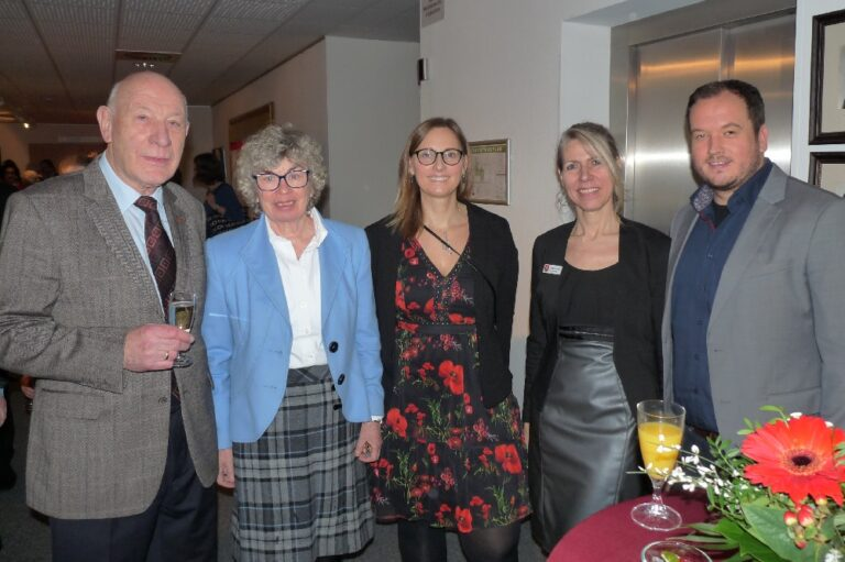 Neujahrsempfang Stadt Pinneberg 2020 Natalina di Racca-Boenigk Urte Steinberg die Norderstedterin