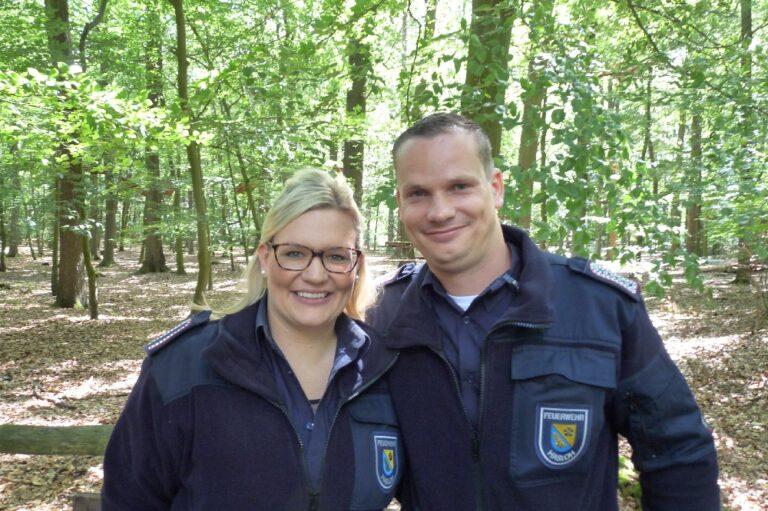 Pfingstwald Hasloh die Norderstedterin Musikzug Feuerwehr