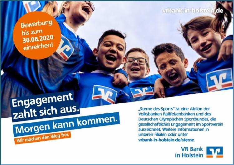 Sterne des Sports 2020 VR Bank in Holstein die Norderstedterin