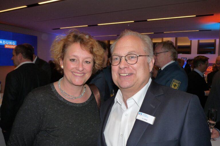 VR Bank in Holstein Neujahrsempfang Pinneberg Norderstedt Uwe Augustin Stefan Witt Die Norderstedterin