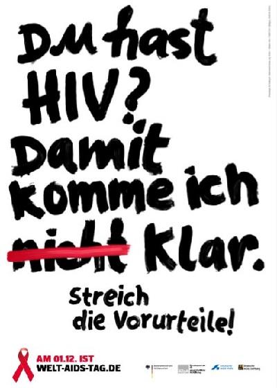 Welt Aids Tag die Norderstedterin